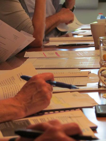ILP-Jurysitzung 2016: Ermittlung der Shortlist